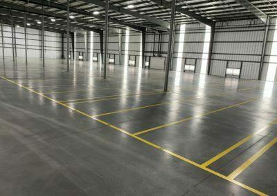 Industrial Floors Striping 1
